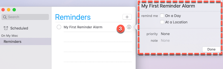 How to Set up Alarm on Mac