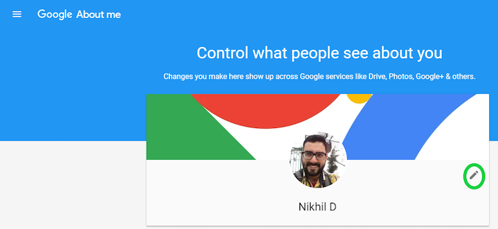 Change your Gmail Profile Picture