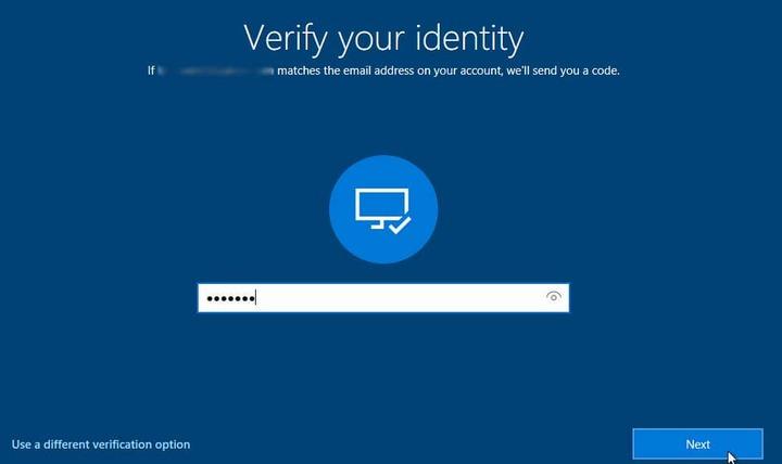 Windows 10 Reset Password