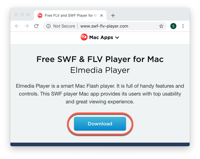 how to open Swf file on Mac OS