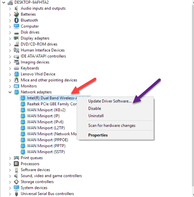 Fix Limited Access or No Connectivity Errors in Windows