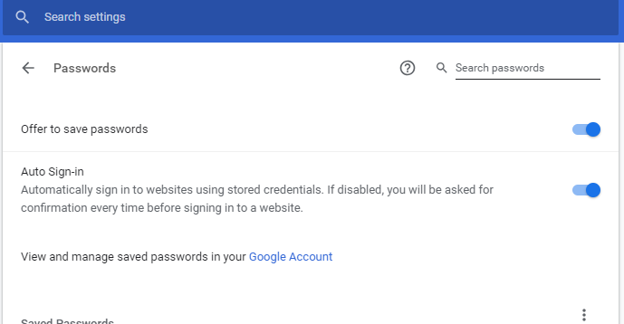 Fix Chrome When It Doesn't Ask to Save The Password on Android iPhone