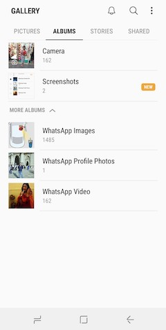 how to hide images and videos in android