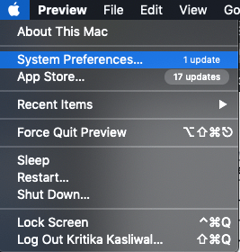 HOW TO CHANGE PASSWORD ON MAC
