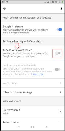 How To Turn Off Ok Google