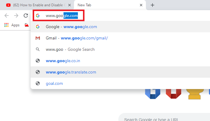 How to turn off safe search on Google