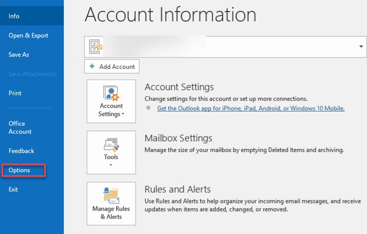 how to archive in outlook