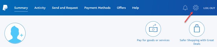 how to change primary email on paypal
