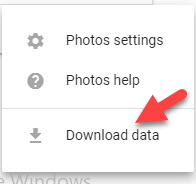 how to download all photos from google photos