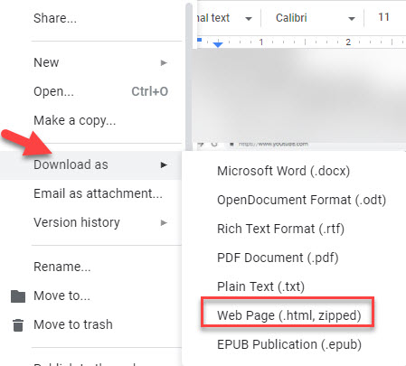 how to save an image from google docs