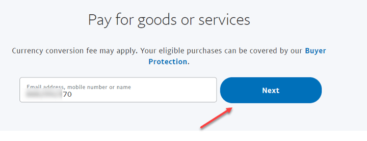 how to send money through paypal