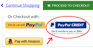 how to use paypal credit