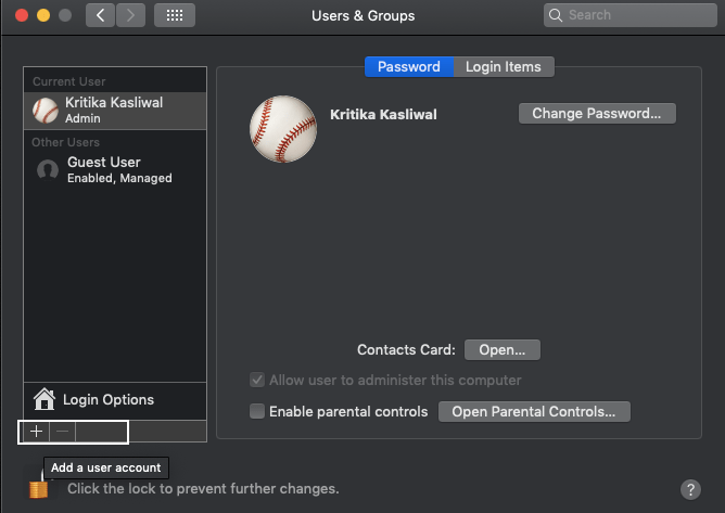 HOW TO CHANGE USER NAME ON MAC