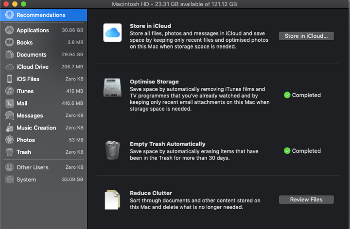 HOW TO CLEAN STARTUP DISK ON MAC