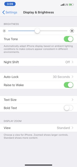 How to Adjust your iPhone's Brightness Settings