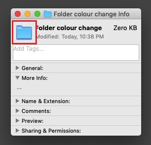 How to Change Folder Color on mac