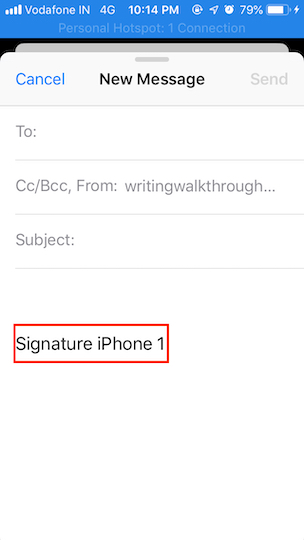How to change signatures in Mail on iPhone and iPad