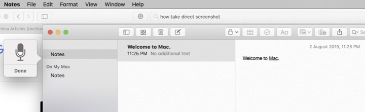 How to Dictate on mac