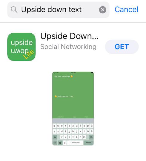 How to Write Upside Down on iPhone, iPad