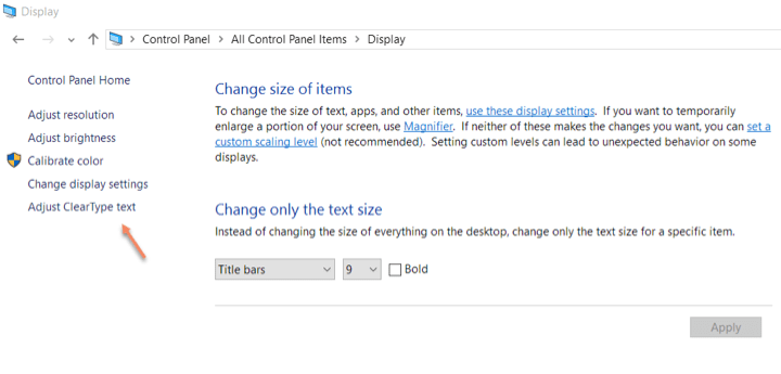 How to Adjust ClearType for Better Looking Fonts on Windows 10