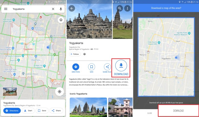 How to Use Google Maps Even Without an Internet Network Connection