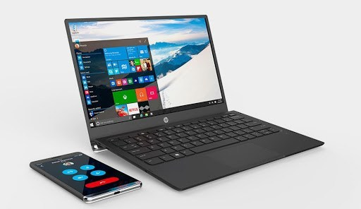The advantages of Windows 10 are Continuum